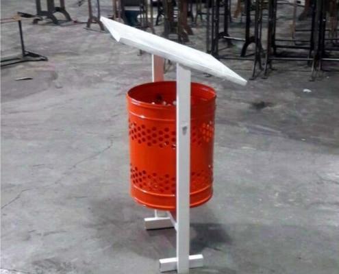 مخزن زباله فلزیZO 03 - 2