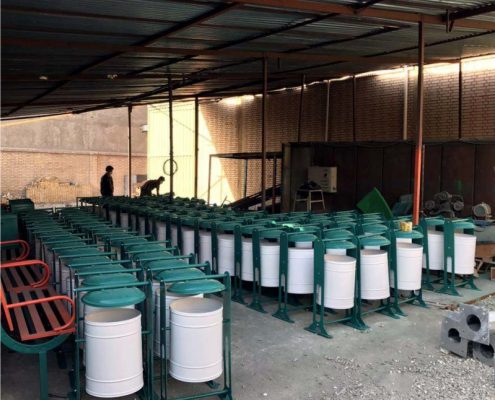 مخزن زباله فلزیZO 30