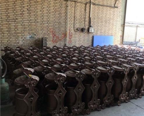 مخزن زباله چدنیZO 34