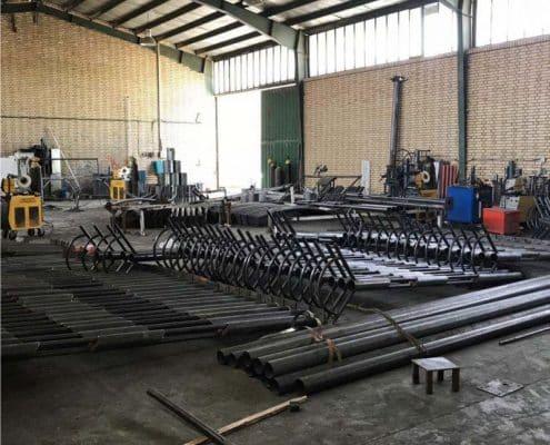 پایه چراغ پارکی صباPK 10 - 2