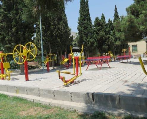 ست ورزشی پارکی - نمونه 1