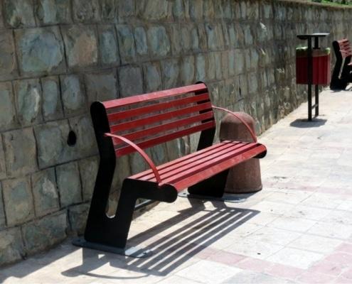 نیمکت پارکی - نمونه 2