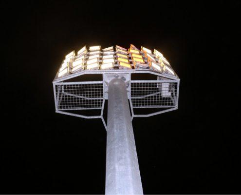 برج نوری استادیومی پرده ای
