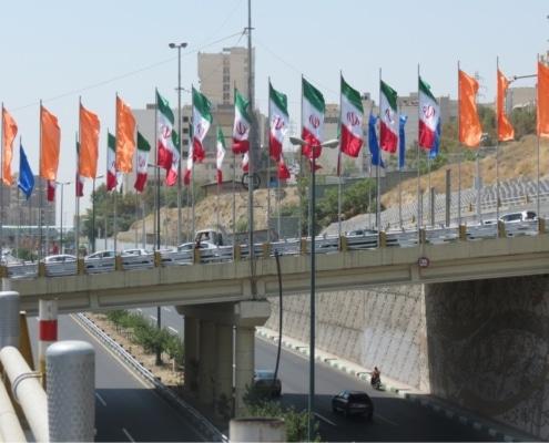 پایه پرچم شهری - نمونه 1
