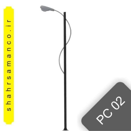 پایه چراغ خیابانی pc02