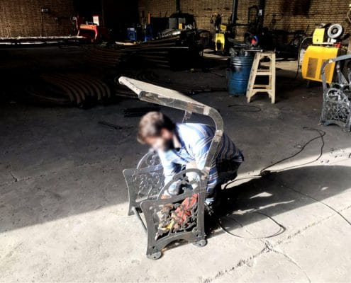 تولید مخزن زباله پارکی zo 32