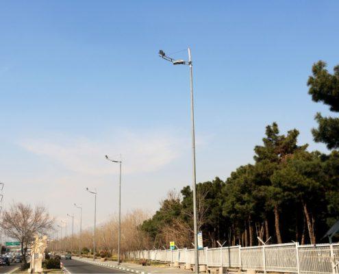 پایه چراغ خیابانی