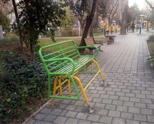 تجهیزات مبلمان شهری