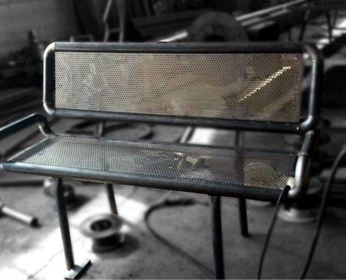 تولید صندلی فلزی پارکی