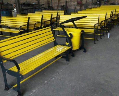 قیمت صندلی فلزی پارکی
