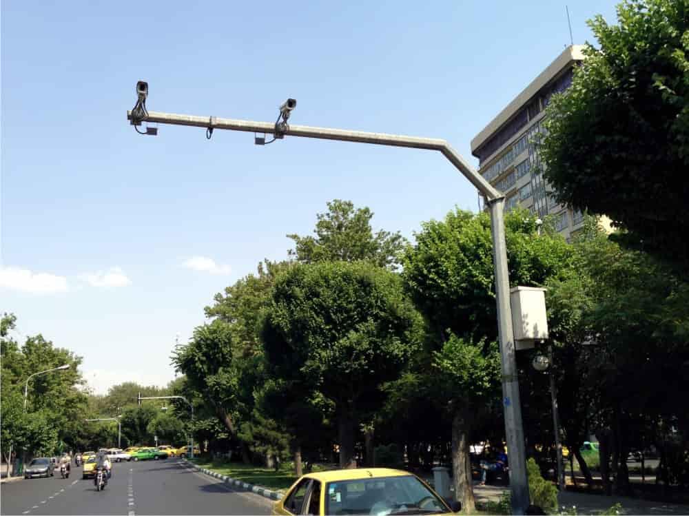 پایه دوربین ترافیکی