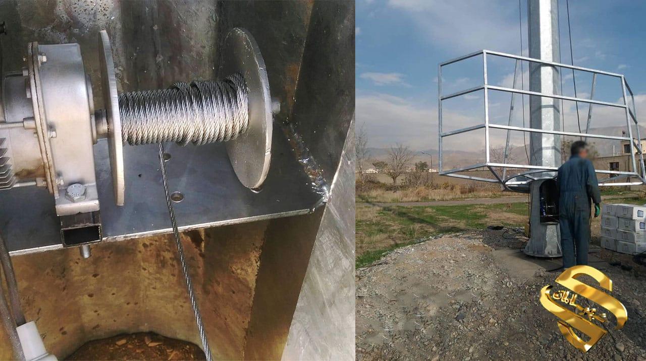برج نوری برقی